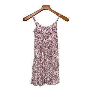 TUCKER + TATE Red White & Blue Floral Tank Dress M